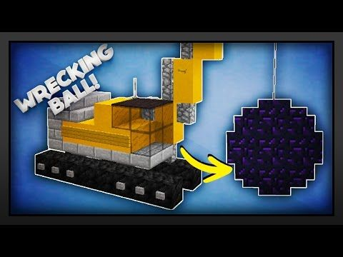 how to build a crane in minecraft