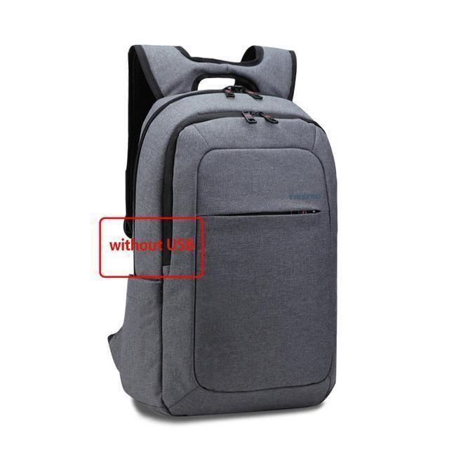 abb26ae043b8 2018 Tigernu Brand External Usb Charge Backpack Anti-Theft Male Mochila  Laptop Backpack School