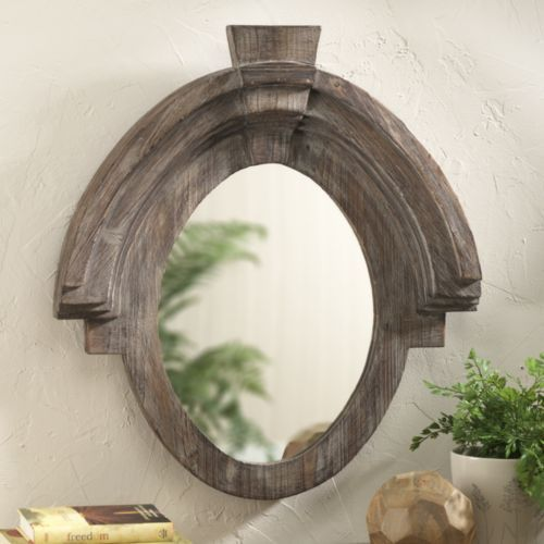 Wooden Frame Mirror   $100 Similar To Restoration Hardware Mansard Mirror  That Sells For 295