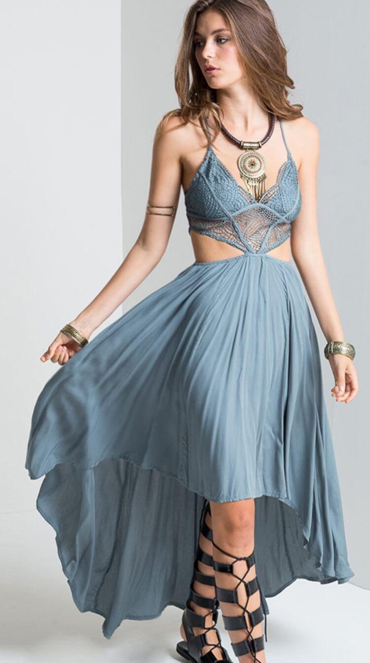 50aee74e99 Boho & Gypsy Sexy Maxi Dress. Women fashion. Bohemian summer dresses ...