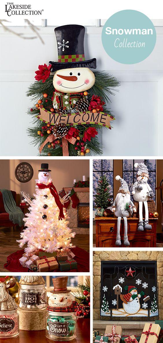 Let is snow, let is snow, let it snow! Cold weather means snowmen