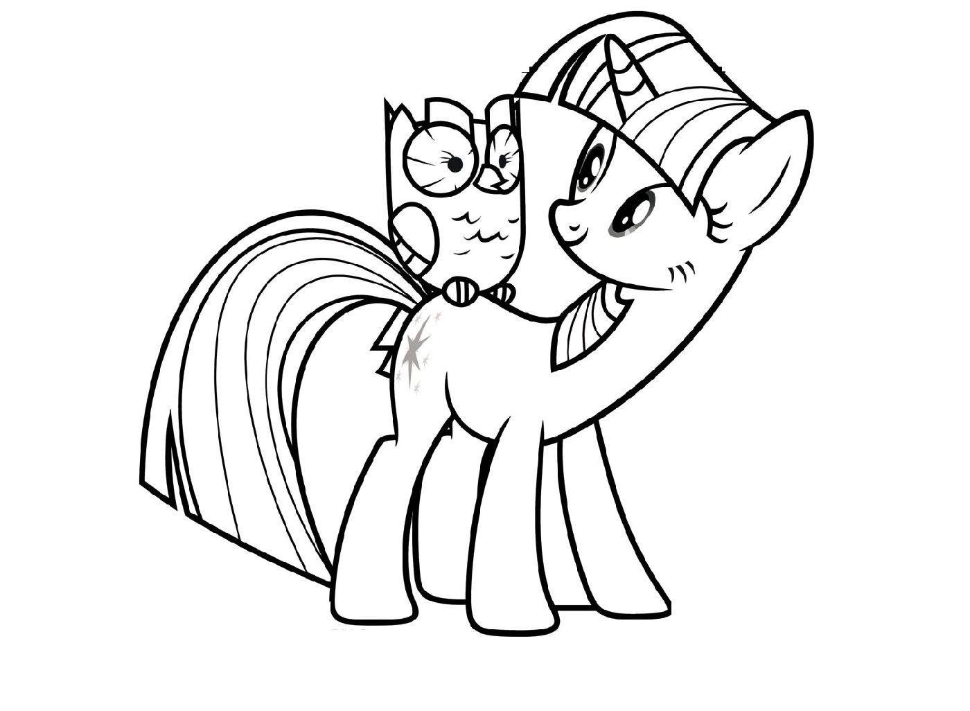 My Little Pony Alicorn Coloring Pages K5 Worksheets My Little
