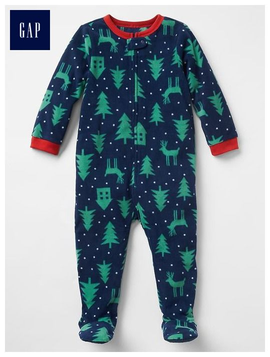 Festive tree footed one-piece  83346750d
