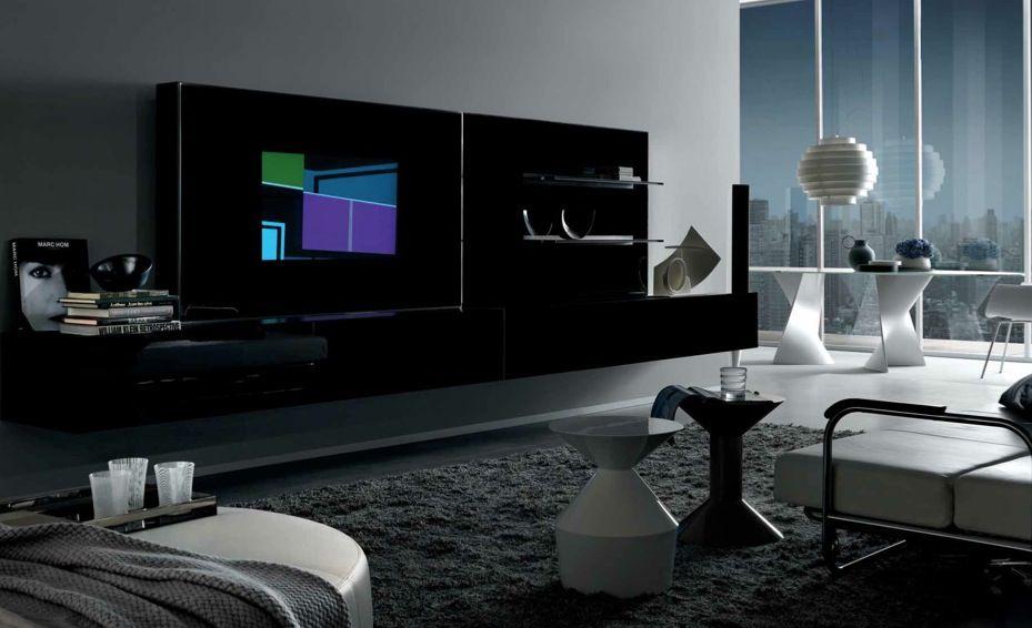 Hitechlivingroomwithextravagantfurniture Doable design