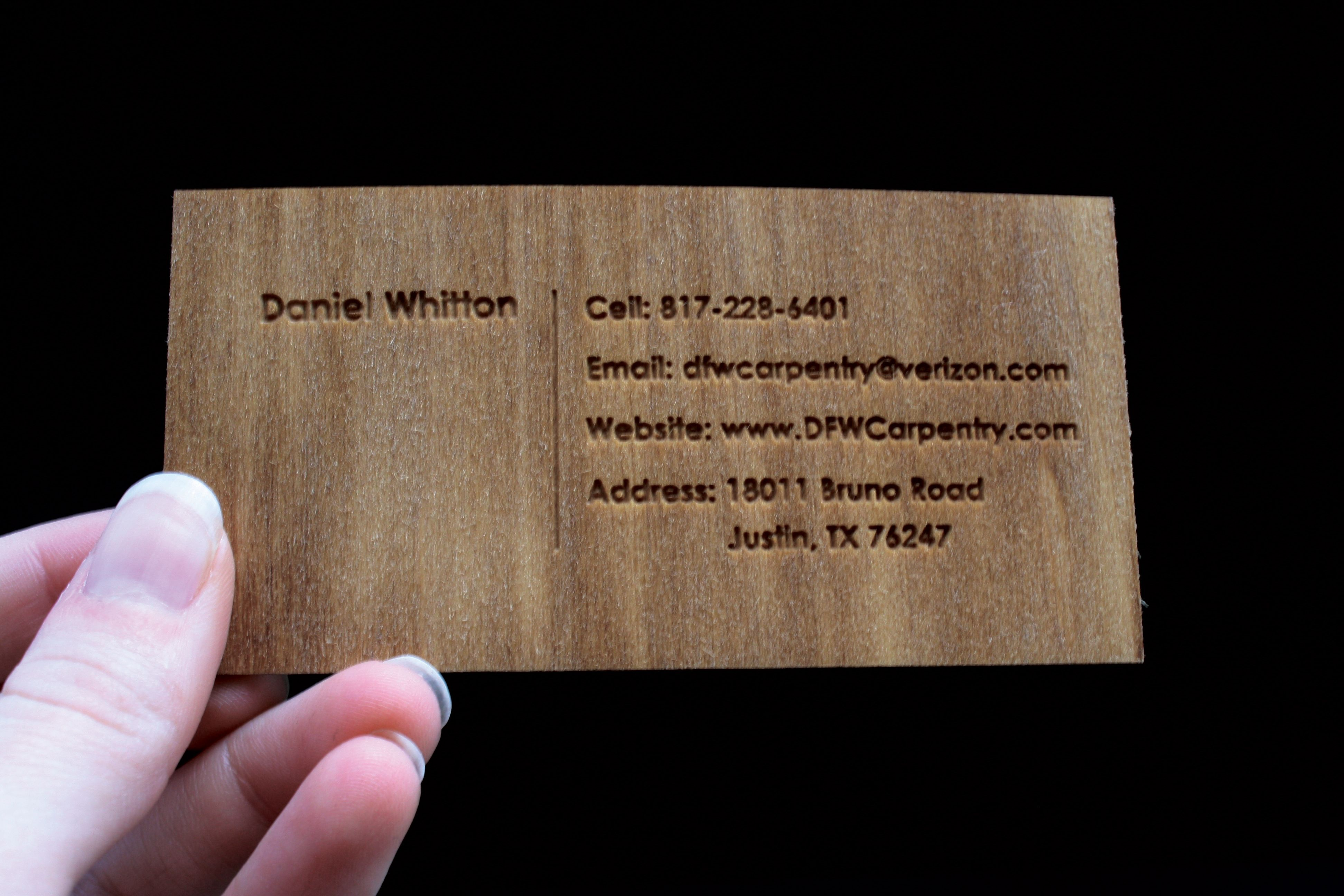 Carpentry Business Cards Designs Google Search Carpentry