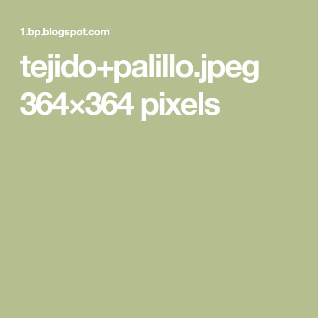 tejido+palillo.jpeg 364×364 pixels