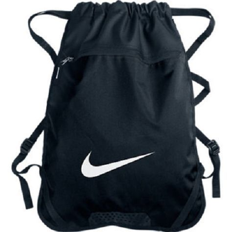 Nike Brasilia Gym Sack Beach Bag Draw String Backpack Men's ...