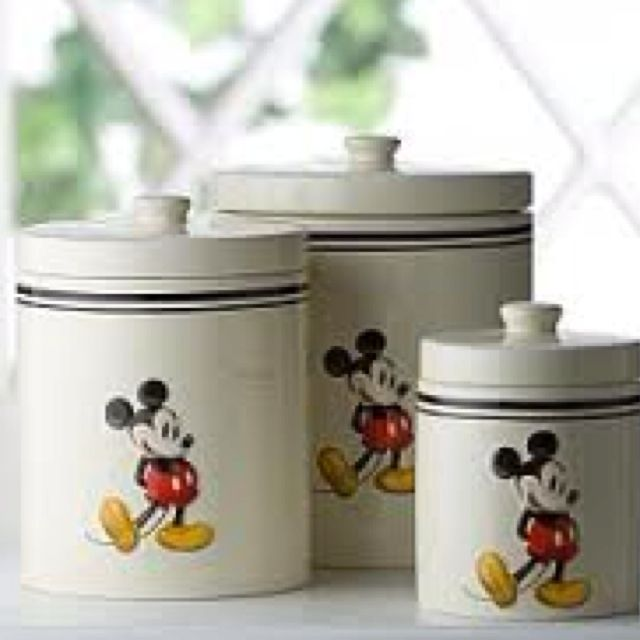 Disney Kitchen: Mickey Mouse Canisters In 2019