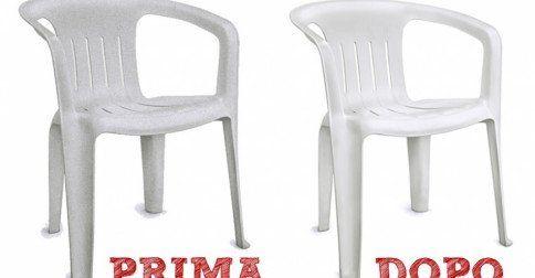 Come Pulire I Mobili Da Giardino In Plastica.Le Sedie Di Plastica E Il Tavolo Da Giardino Sembrano Ormai Da