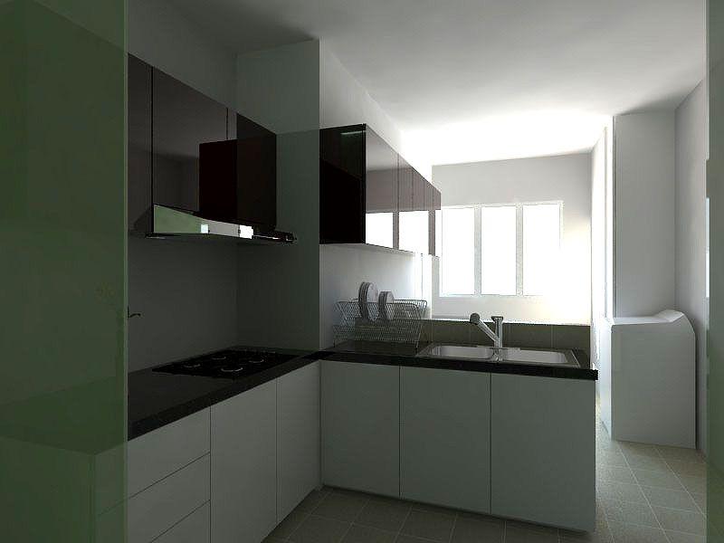 interior kitchen cabinet design hdb 3 room flat 2 renovation hdb singaporeinterior condo on kitchen ideas singapore id=59354