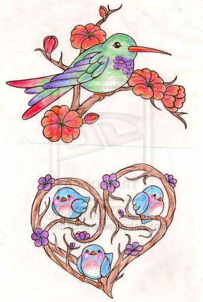 Bird Tattoos by Metacharis on deviantART