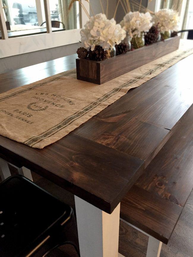 Modern Farmhouse Table with Benches Plans