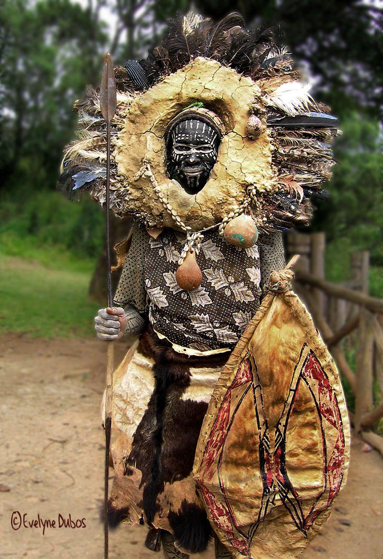 Africa | Portrait of a Kikuyu Warrior. Kenya. BelAfrique your personal travel planner - www.BelAfrique.com