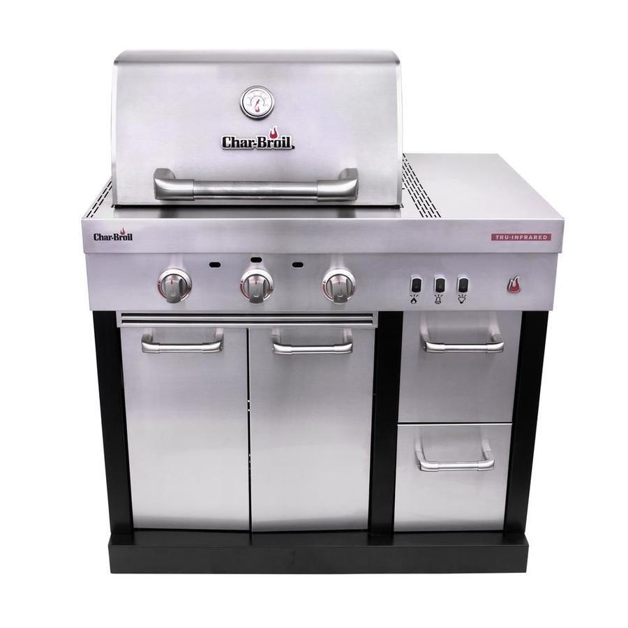 Char Broil Modular Outdoor Kitchen 3 Burner Medallion Modular Gas Grill 463246018 In 2020 Modular Outdoor Kitchens Outdoor Kitchen Outdoor Kitchen Appliances