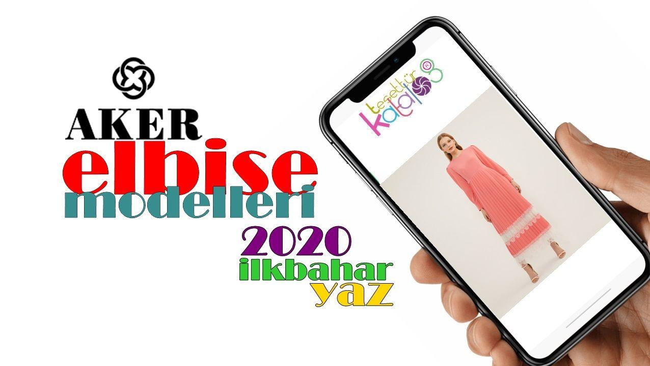 Photo of Aker 2020 Spring Summer Long Dress Models