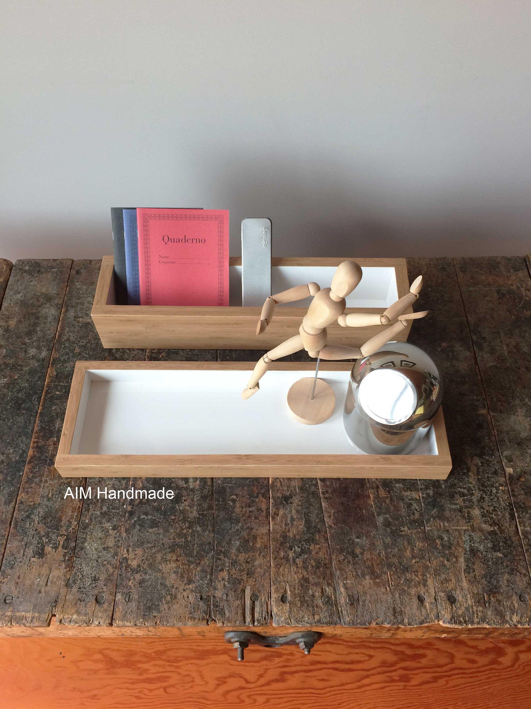 Stupendous Bamboo Gloss White High Side Tray Open Storage Kitchen Interior Design Ideas Inesswwsoteloinfo