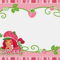 Strawberry shortcake free printable kit cupcake toppers strawberry shortcake free printable invitation card tag or label filmwisefo Gallery