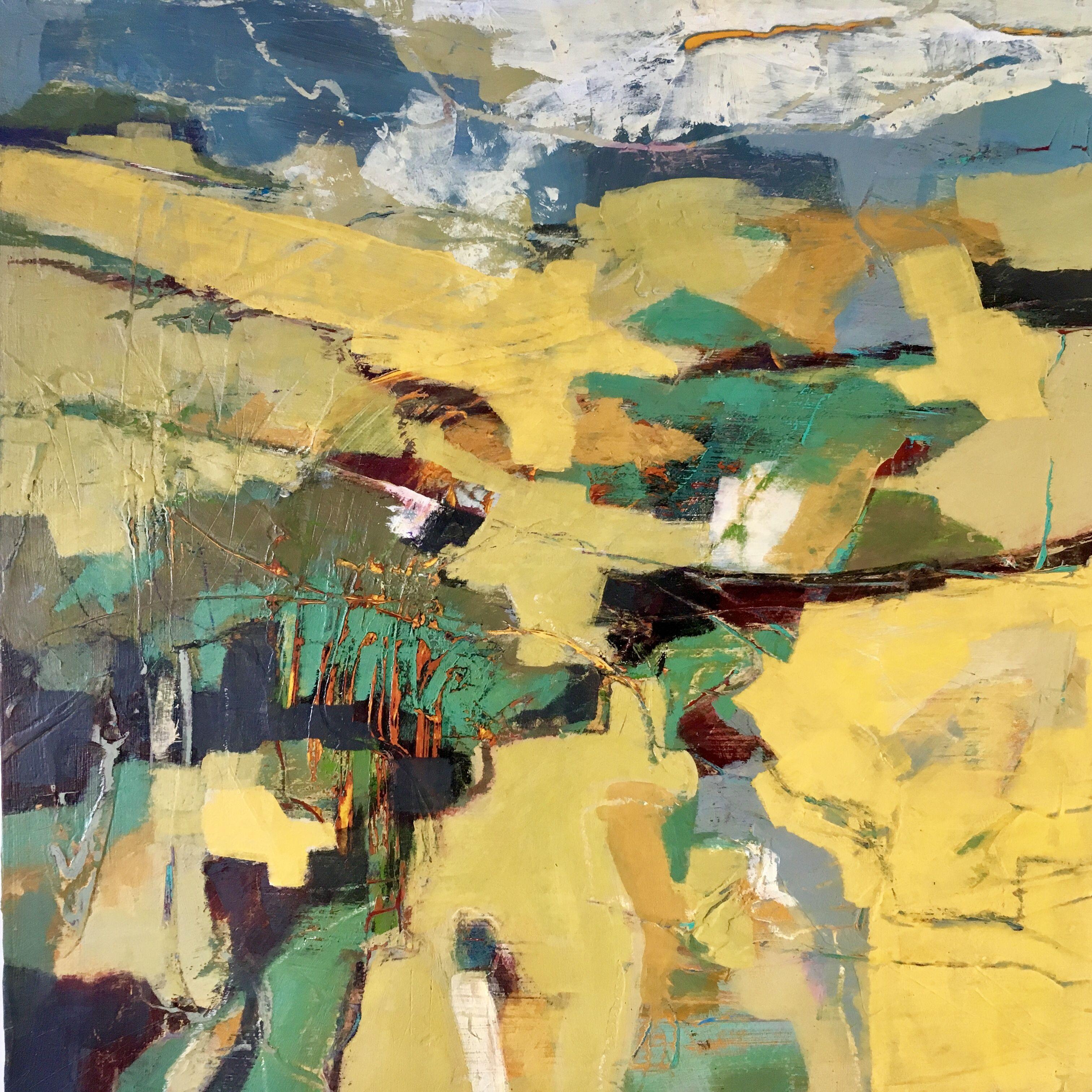 Pin By Liz Van Zeeland On More Art Abstract Art Landscape Abstract Art Painting Abstract Landscape Painting