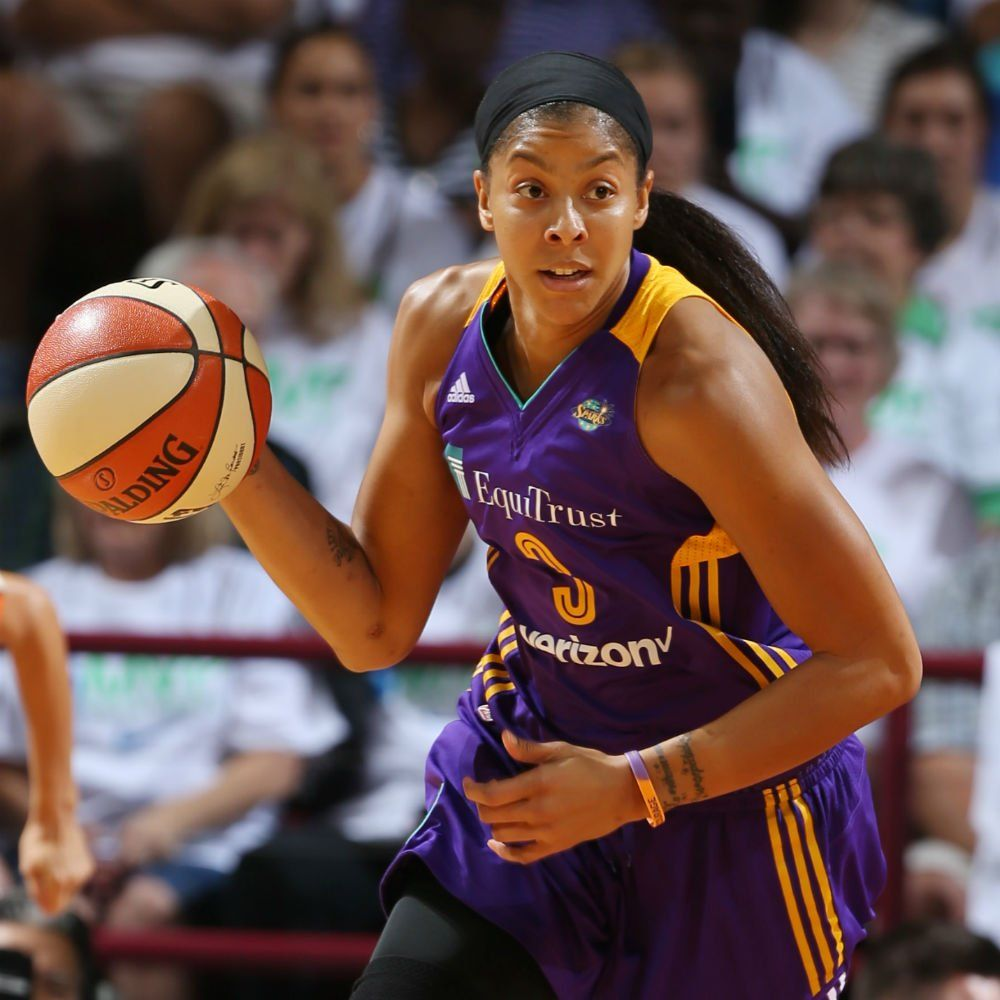 """WNBA on Twitter """"The LA_Sparks Point Forward! On her"""