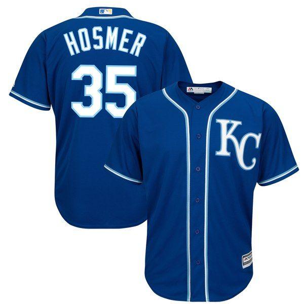 d02b20d660c Eric Hosmer Kansas City Royals Majestic Cool Base Player Jersey - Royal   KansasCityRoyals