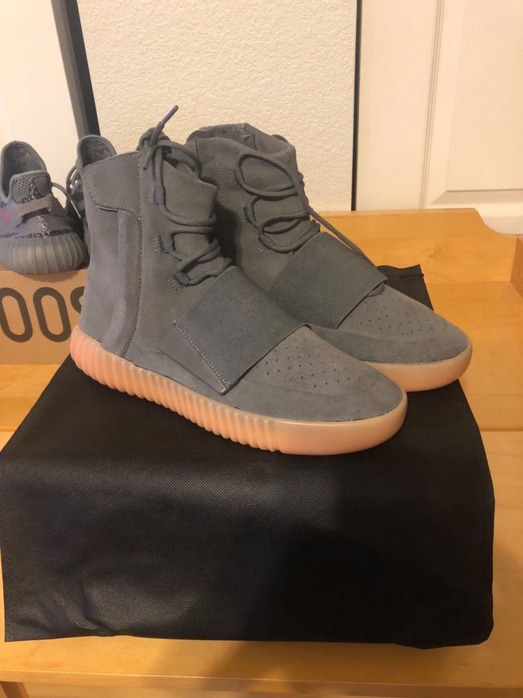 factory price 309f9 fc4a1 Authentic adidas yeezy boost 750 grey gum #fashion #clothing ...