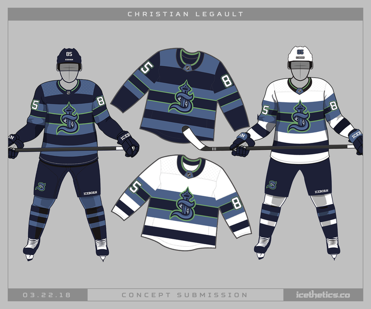 Release The Kraken Icethetics Co Hockey Logos Jersey Boys Team Jersey