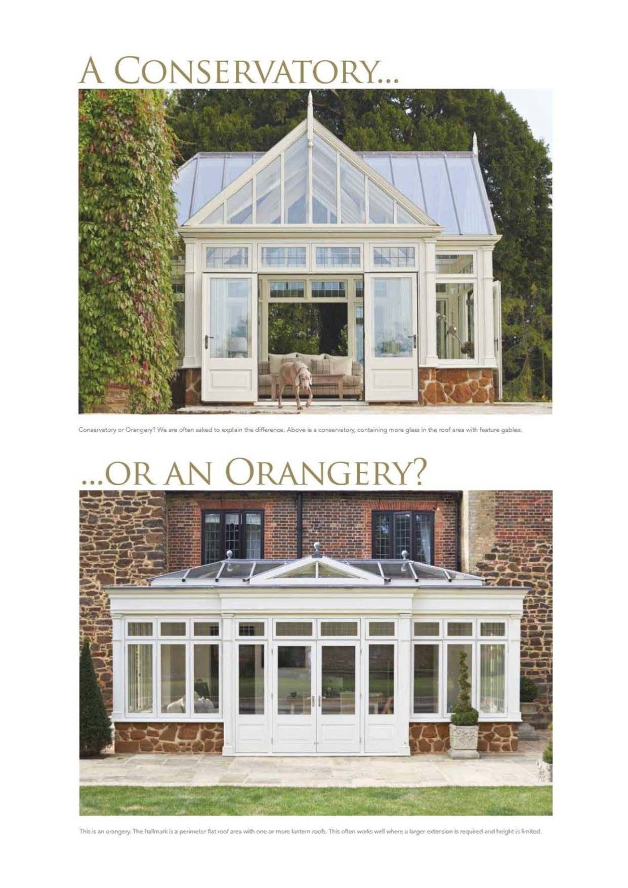 Container Haus Löhne Orangery Or Conservatory We Often Get Asked What The Difference