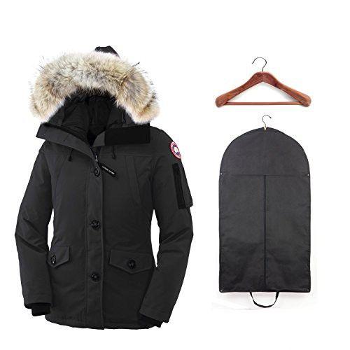 c5d3090a680 Canada Goose Women's Montebello Parka Black w/ Cedar Hanger and Garment Bag  Small