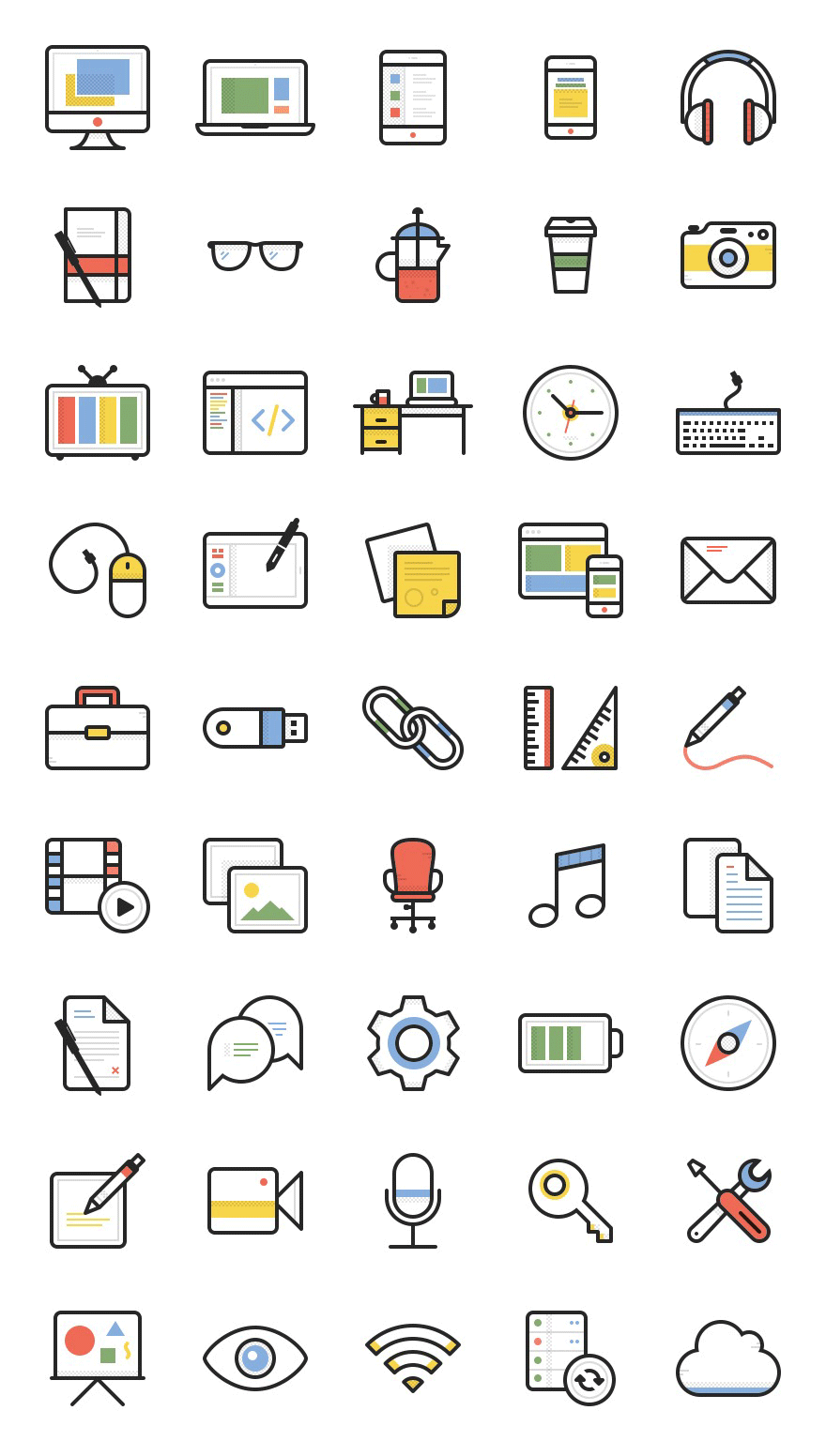Freebie: Dashel Icon Set (45 Icons, SVG, PSD, PNG) - Smashing Magazine …