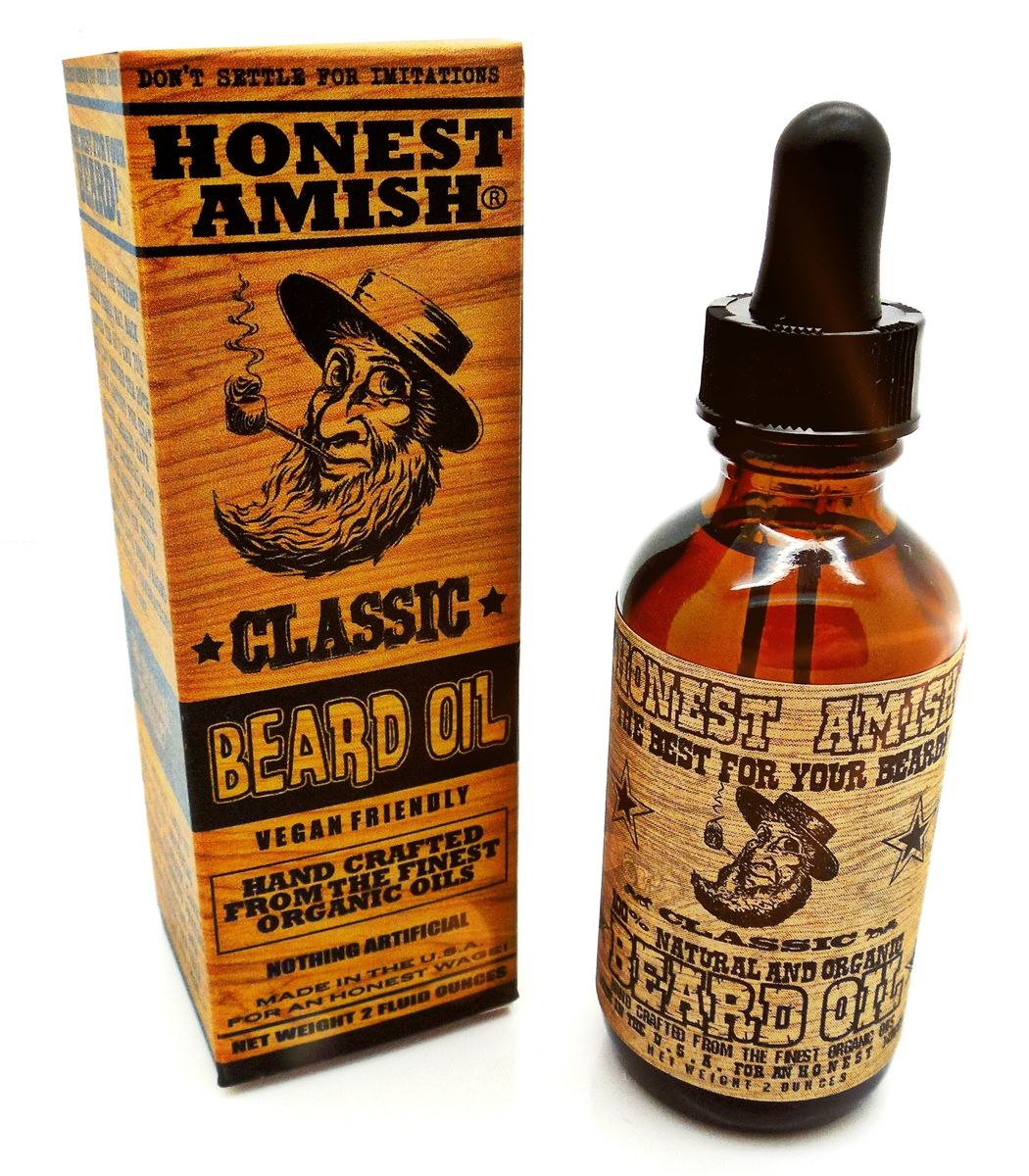 Honest Amish Classic Beard Oil. '' The Best for Your Beard