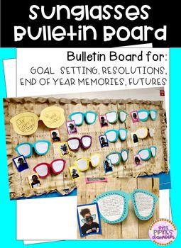 Sunglasses Bulletin Board Bulletin boards, Writing lines