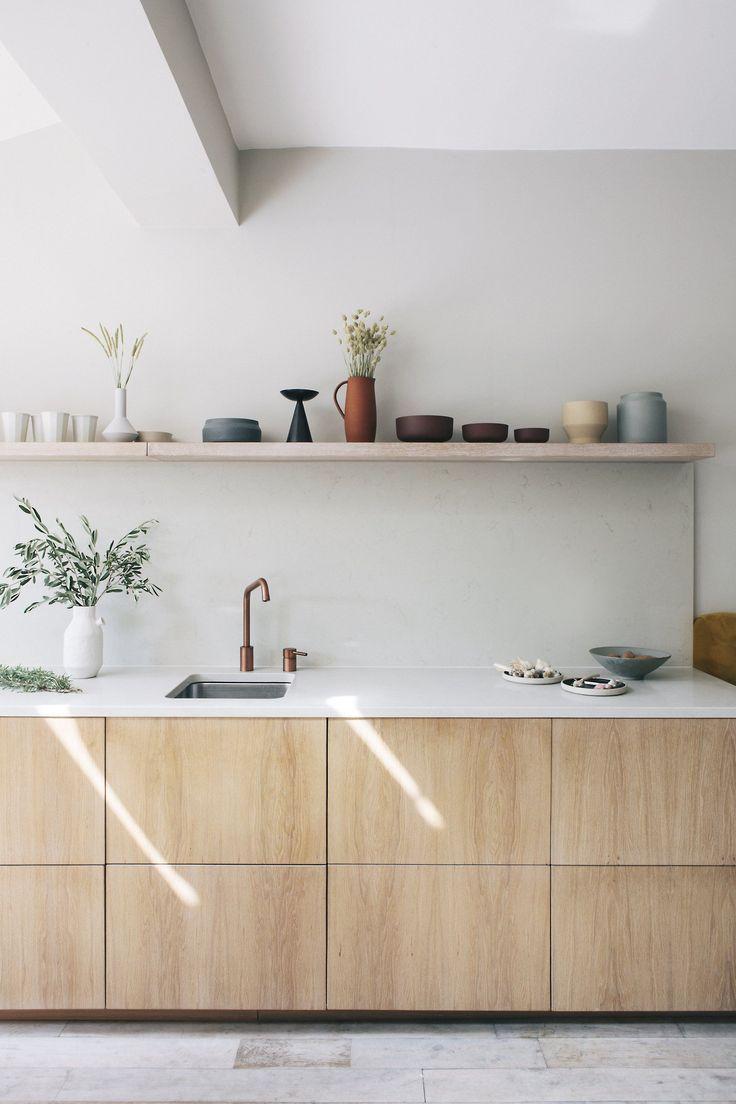 Birke Schichtholz Und Hartholz Kuche Garderobe Und Badezimmerturen Customfr In 2020 Ikea Kitchen Cabinets Ikea Kitchen Design Interior Design Kitchen