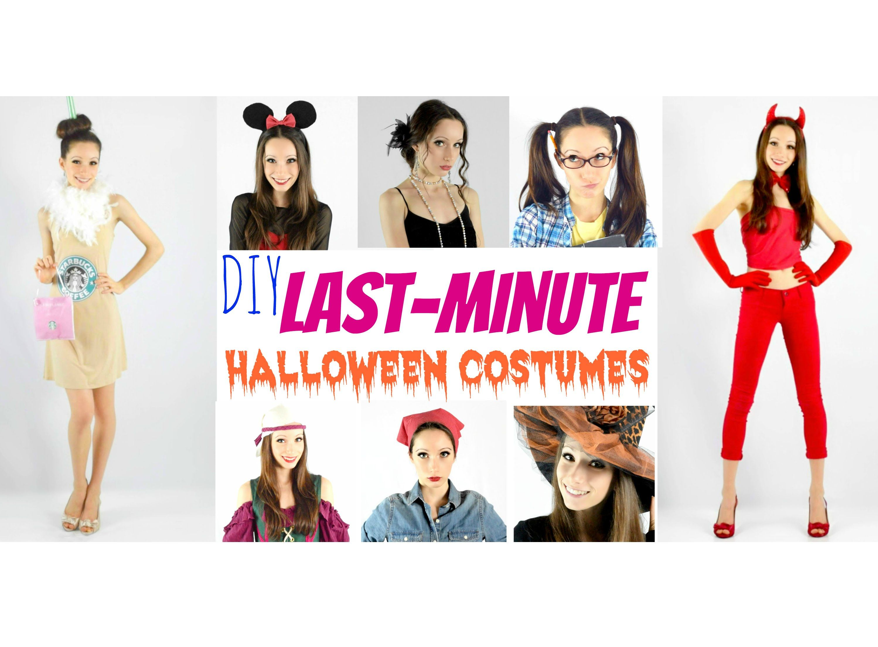 Perfect for all you procrastinators out there. if you\u0027ve left your  Halloween costume to the last minute, here are 13 last,minute Costume ideas!