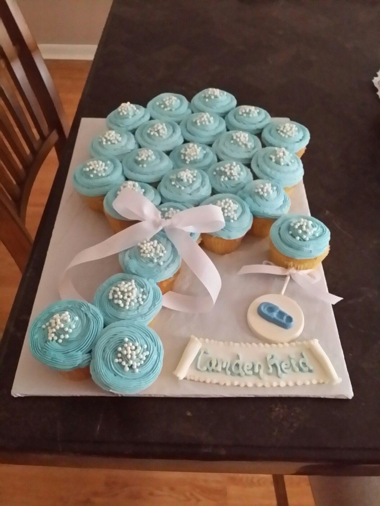 Baby Shower Cupcakes Baby Shower Cupcakes For Boy Baby Shower Cupcake Cake Baby Shower Desserts Boy