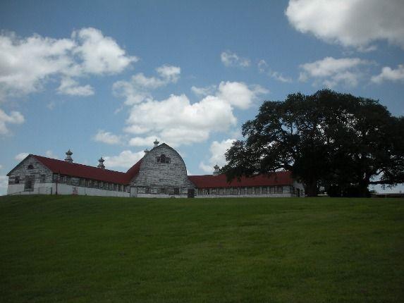 Photograph Of The Historic Dairy Barn At Central Louisiana