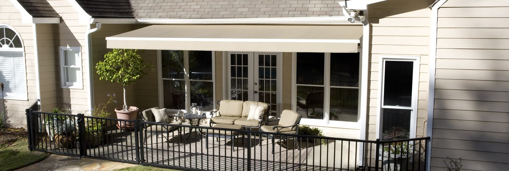Introducing Our New Line Of Retractable Awnings From Solair Buy Now And Get 20 Off Plus Half Off On Installation In Ground Pools Above Ground Pool House
