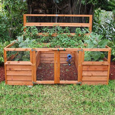Backyard Botanical Complete Gardening System Garden Layout