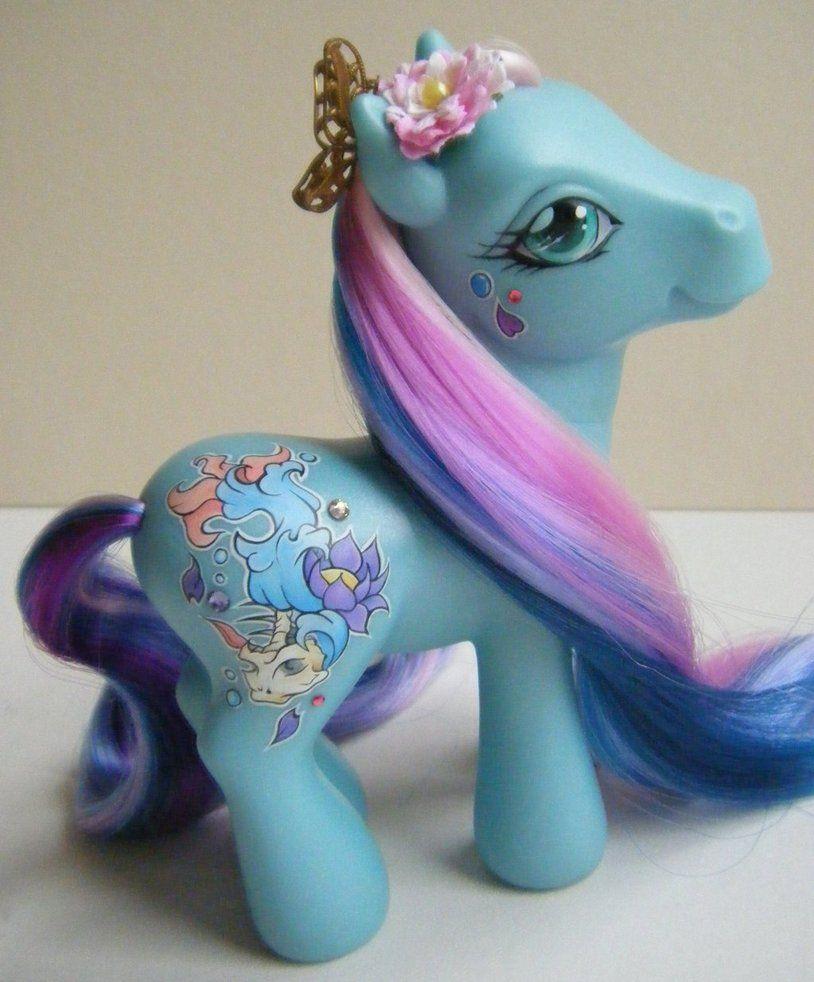 Custom G3 My Little Pony Kancho by eponyart