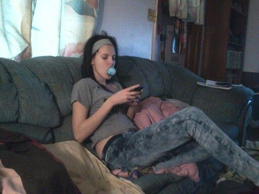 Andrea and her jawbreaker