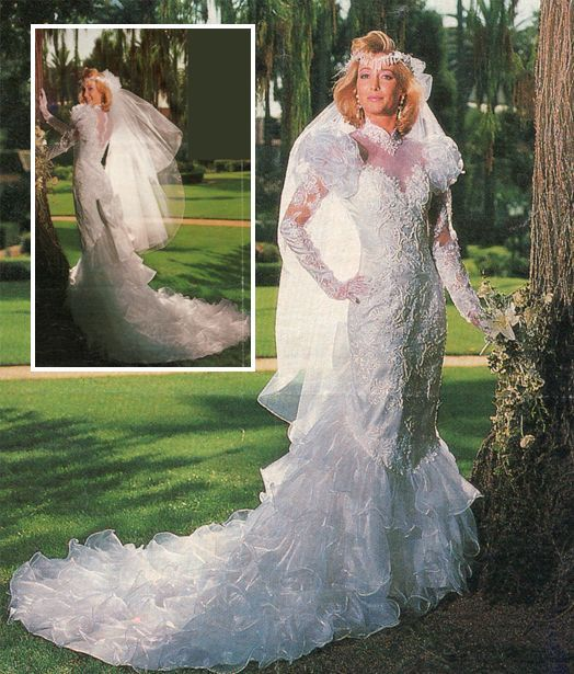 Vintage Wedding Dresses 80s: Weddings 2011: Trending Wedding Dresses, Ruffles!