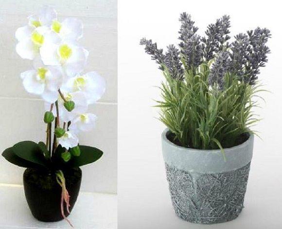 Resultado de imagen para decoracion con flores artificiales para el