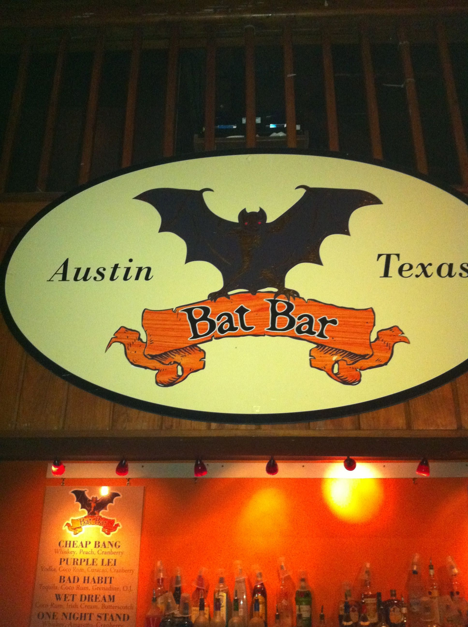 Bat Bar On Sixth Street Austin Tx