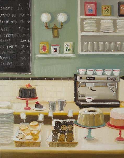 Food Paintings by Janet Hill
