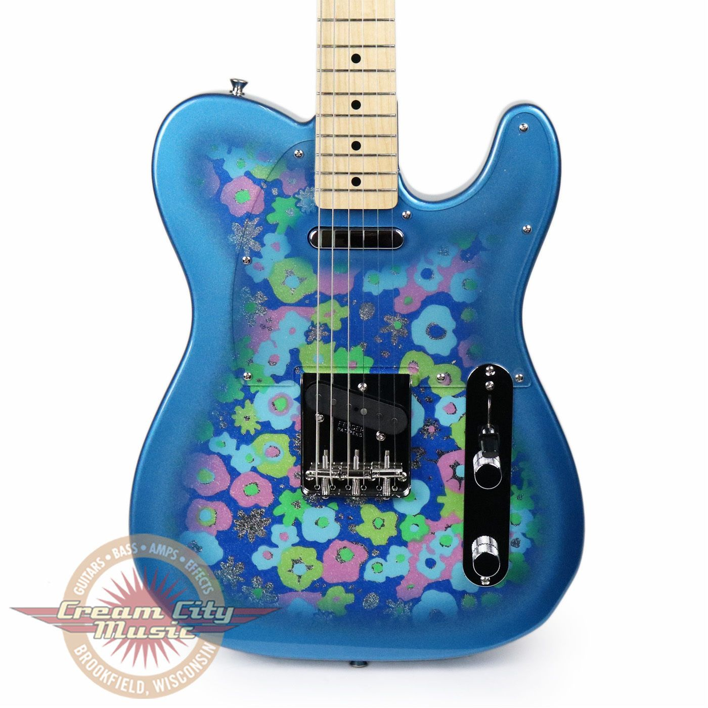Brand New Fender Limited Edition FSR Classic 69 Telecaster MIJ Blue Flower Demo