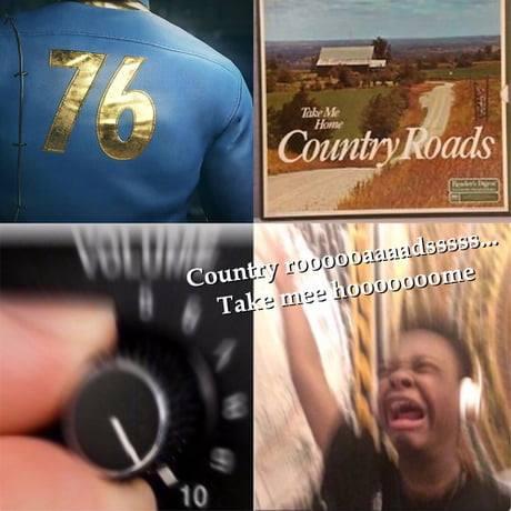 OOOOOOOOOOH COUNTRY ROADS!!!! - Fallout 76 Teaser Got Me ...