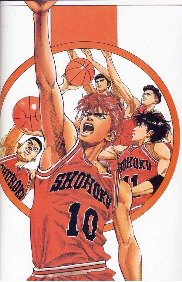 how to draw slam dunk