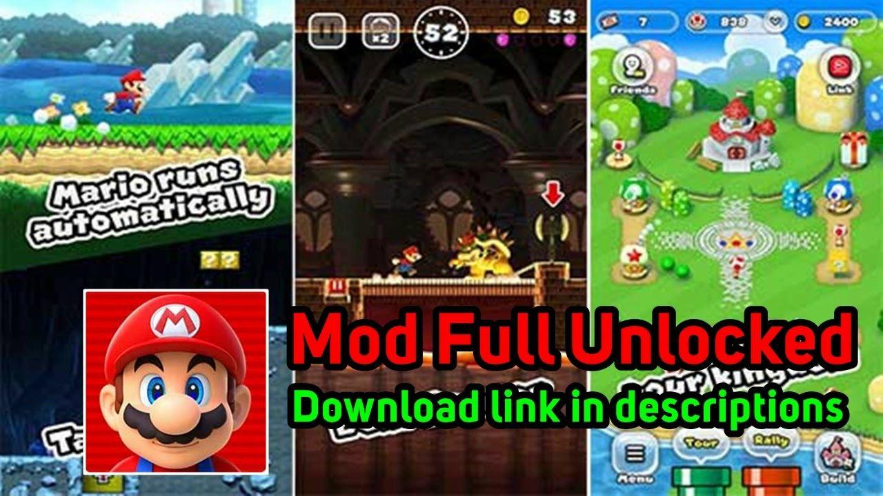 Super Mario Run 3 0 16 Apk Mod Full Unlocked For Android