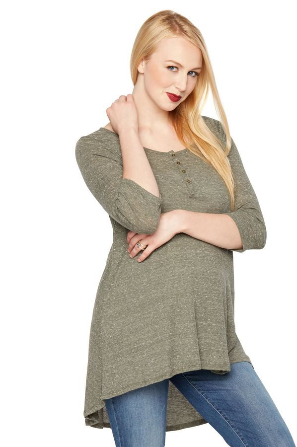 3a077937c6e A Pea in the Pod High-low Hem Maternity Tunic | Products | Henley ...