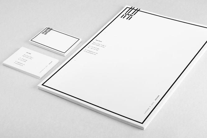 Guya Hansen Identity / Woodlake   Design Graphique