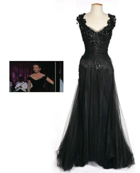 Worn by Deborah Kerr as 'Terry McKay' singing at the nightclub in Boston before returning to New York in 'An Affair to Remember', 1957.  Estimate: $1,500 - $2,000